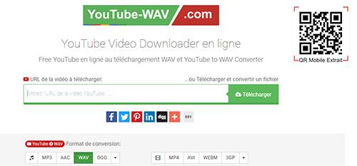 convertisseurs Youtube en WAV