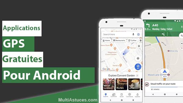applications GPS gratuites pour Android
