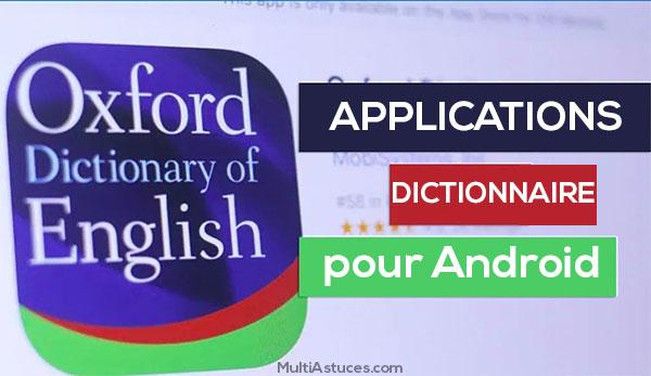 applications de dictionnaire